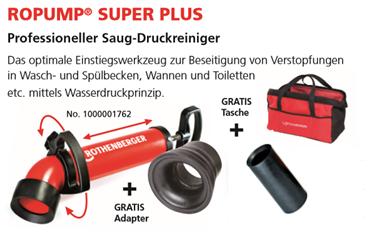 Rothenberger Ropump Super Plus Sonderaktion