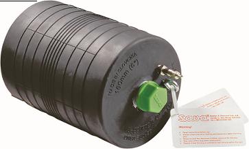 Absperrblase mit Durchgang 50mm - Rohrabsperrblase Sava Plugsy