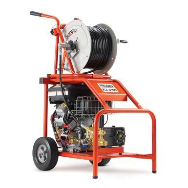 Ridgid KJ-3100 Hochdruck-Rohrreinigungsmaschine