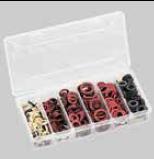 Fiber-Ring-Sortiment - 550 Stück