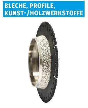 Kombi Fräser Kunststoffrohre z.B. HT, KG 115mm Scheibendurchmesser