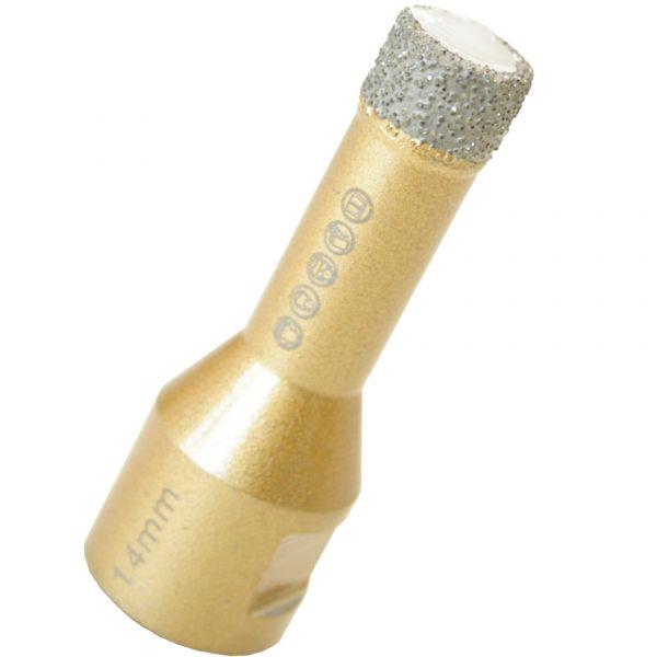 Feinsteinzeugbohrer 8mm - Trockenbohrer für Winkelschleifer