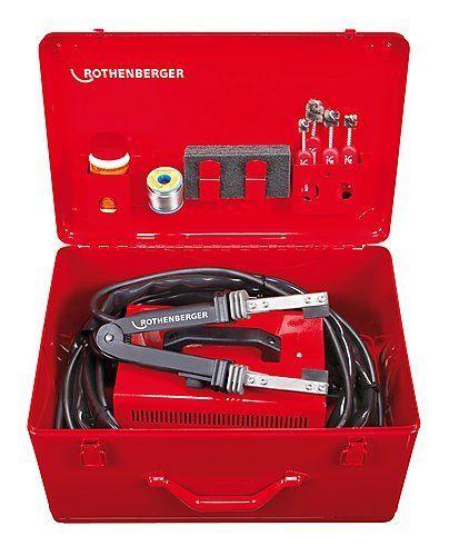 Rothenberger Elektro-Weichlötgerät ROTHERM 2000 Set mit Zubehör, 230V