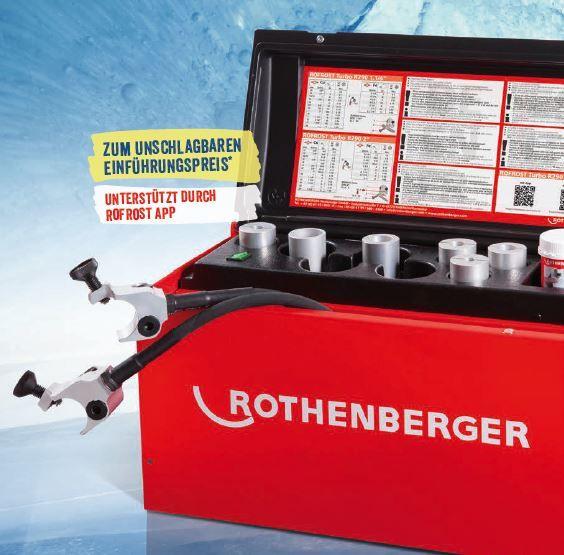 "Rothenberger Rofrost Turbo 1.1/4"" Einfriergerät"